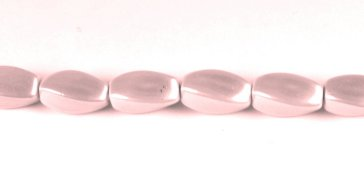 (MPW-504) 6x12mm Twist Pink Magnetic Bead