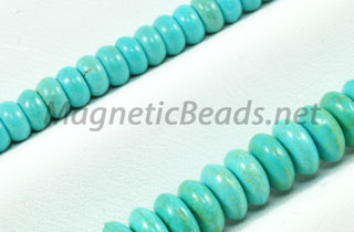 Semi-Precious Bead African Turquoise Roundell (AT-Roundell)