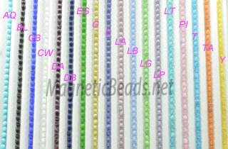 Cat's Eye Beads 6mm (CE-6) Click here to see colors