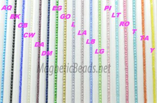 Cat's Eye Beads 4mm (CE-4)Click here to see colors