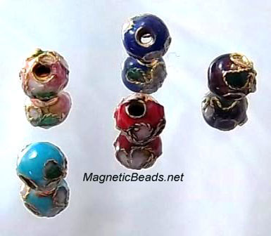 Cloisonne Accent Beads Mixed CLB-6-MX