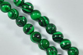 Semi-Precious Beads Malachite Round 6mm (MAL)