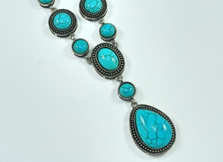 Turquoise Necklace (TN-30)