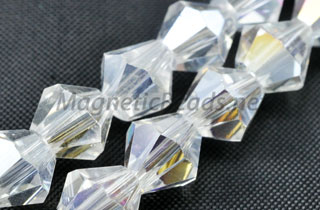 Glass Bead 5mm Bi-Cone AB (GBAB-05)