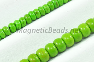 Semi-Precious Bead Green Turquoise Roundell (GRN-Roundell)