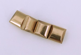 Magnetic Bead 2 Hole 10x10mm Rose Gold Spacer (MS-10-RG)