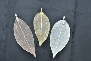 Leaf Pendant 9mm (Leaf)