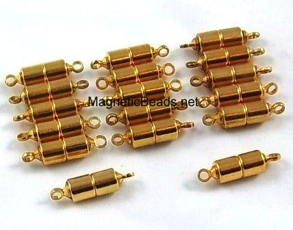 Magnetic Clasp Gold with Loops (MCGL-5)