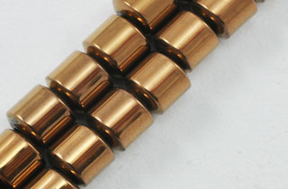 Magnetic Bead 4mm Drum Copper (M-101-C)