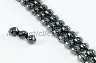 Magnetic Bead 4mm Faceted Double Cone (M-704)