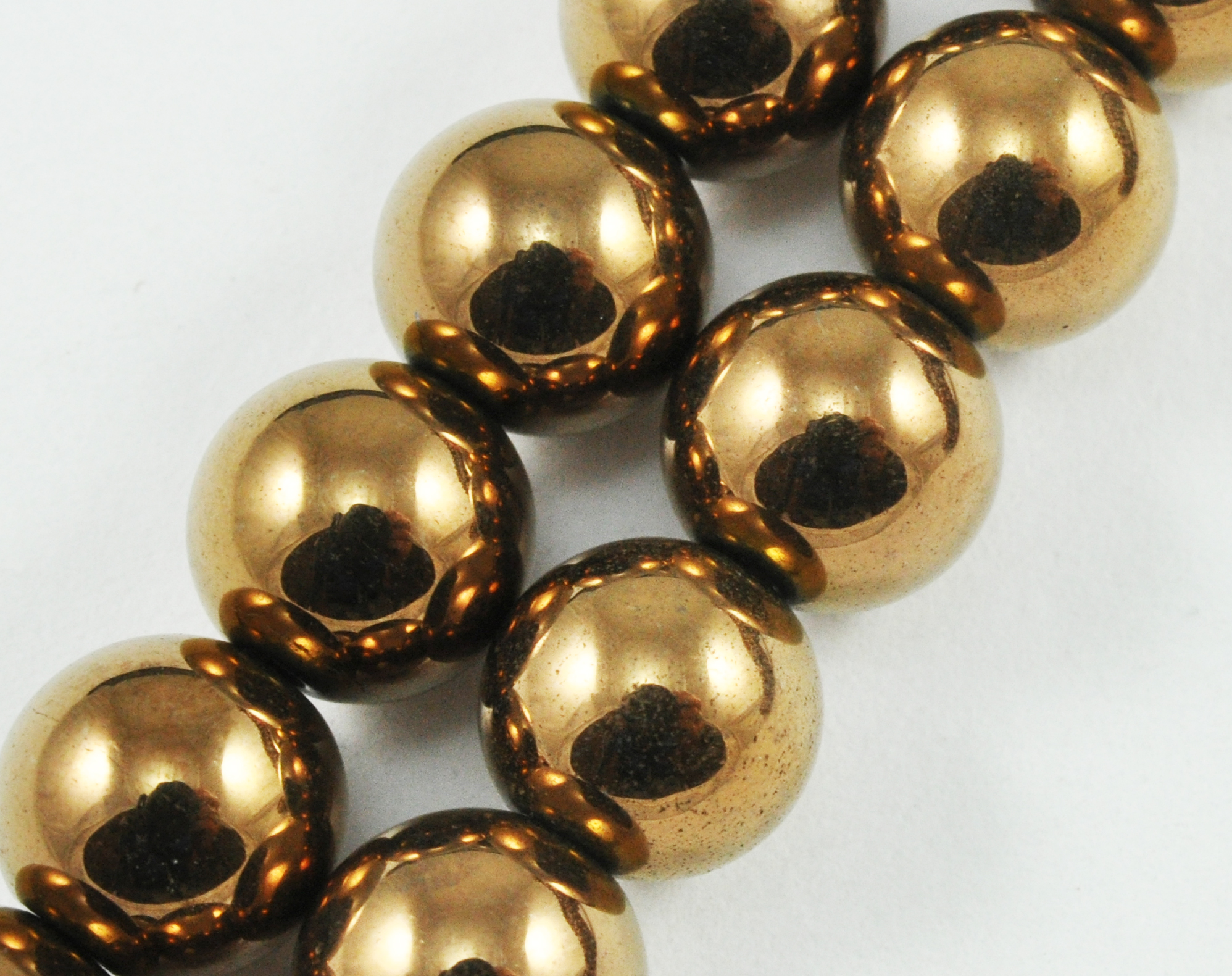 Magnetic Beads 8mm Copper Round (M-208-C)