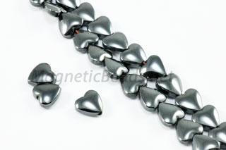 Magnetic Bead 6mm Puffed Hearts (M-107)