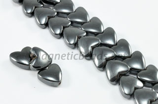 Magnetic Bead 8mm Puffed Heart (M-108)