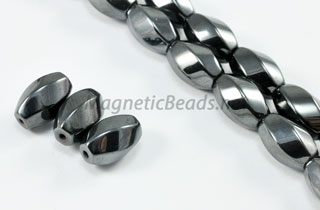 Magnetic Bead 8x12mm Swirl (M-603)