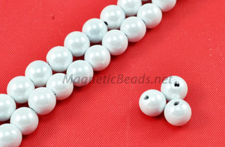 Triple Power Magnetic Bead Round 4m or 6m Pearl White (PMPW-202)