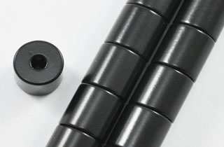 Magnetic Clasp 5000 Gauss 8x8mm Black Epoxy (MC-8-B)