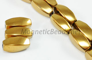 Magnetic Bead 5x12mm Copper Twist (M-601-C)