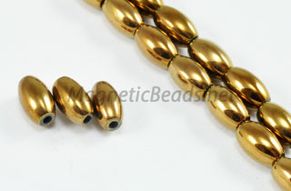 Magnetic Bead 5x8 Copper Rice (M-502-C)