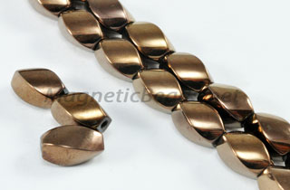 Magnetic Bead 5x8mm Copper Twist (M-600-C)