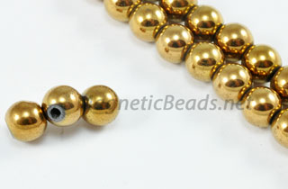 Magnetic Bead 6mm Copper Round (M-202-C)