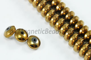 Magnetic Bead 6mm Copper Roundel (M-10-C)
