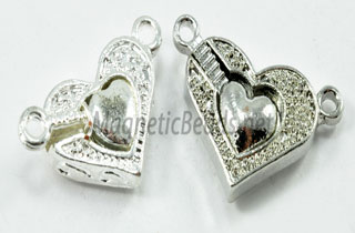 Magnetic Heart Clasps (MCH-16)
