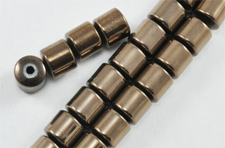 Magnetic Bead 6mm Drum Copper (M-102-C)