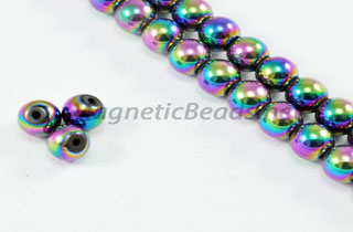 Magnetic Bead 5mm Rainbow Round (M-205-R)