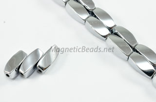Magnetic Bead 5x12mm Silver Twist (M-601-S)