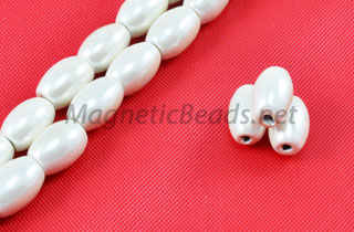 Triple Power Magnetic Bead 4x7m Rice Pearl CW (PMPW-501-C)