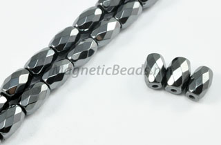 Triple Power Magnetic Bead 5x8mm Faceted Rice (PM-502-F)