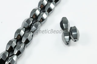 Triple Power Magnetic Bead 6x8mm Faceted Double Cone (PM-703)