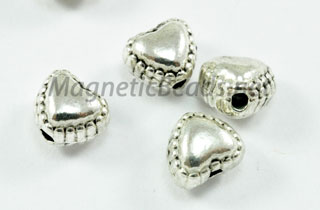 Metal Findings Spacer 5x3 mm Heart Shaped Spacer (F-238)