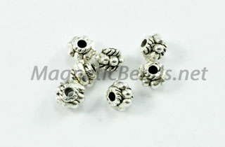 Metal Findings/Spacer 5x4mm Spacer (F-114)