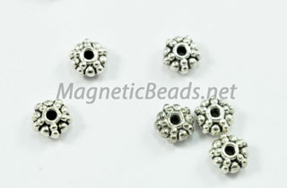 Metal Findings/Spacer 6x3mm Spacer (F-81)