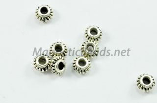 Metal Findings/Spacer 6mm Spacer (F-89)