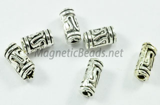 Metal Finding/Spacer 3x6mm Metal Tube Spacer (F-232)