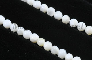 Semi-Precious Beads 4mm Shell (SH-4M)