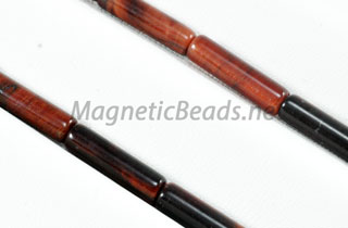 Semi-Precious Beads Red Tiger Eye 4x13m Tube (RTE-TUBE)