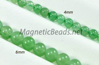 Semi-Precious Beads Aventurine 4mm or 6mm Round (AV)