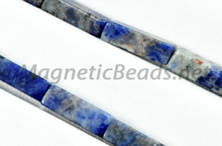 Semi-Precious Beads Rectangle 4x13mm Blue Sodalite (RCT-BS)
