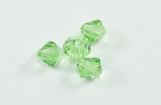 Swarovski Bi-Cone Crystal Elements 6mm Peridot (SWPeridot)