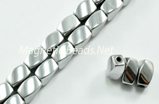 Triple Power Magnetic Bead 4x7m Silver Twist (PM-509-S)