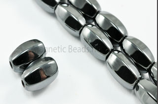 Triple Power Magnetic Bead 5x8mm 6 Sided Rice (PM-504)
