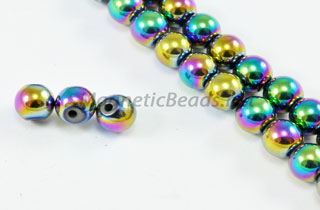 Magnetic Bead 6mm Rainbow Round (M-202-R)