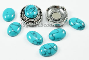 Mag-Pendant Blue Turquoise (Mag-Pend Blue Turquoise)